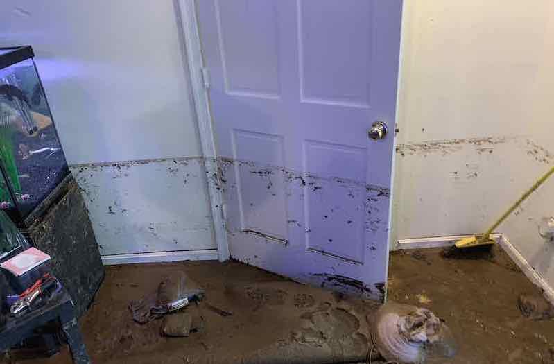 Flooded basement superior damage restoration